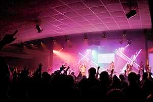 Sheffield Hopecity, sound, lighting and video